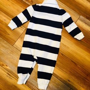 Ralph Lauren One Pieces - Ralph Lauren baby boy striped coverall